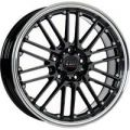 Borbet CW2/5 Black Rim Polished